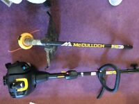 mcculloch petrol strimmer - used once
