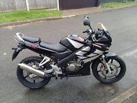 Honda cbr 125 r 2006 black excellent condition 125cc