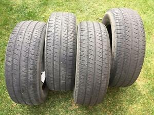 4 Bridgestone Dueler H/T470 - 225/65/17 - 50-60% - $80 For All 4