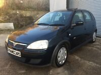 VAUXHALL CORSA 1.2 DESIGN 5 DOOR MANUAL 2005