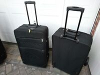 Two Dunlop suitcases it good condition