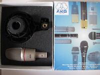 AKG C3000B Large Diaphragm Condensor Microphone