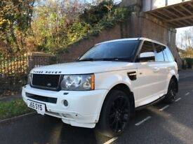 RANGE ROVER SPORT 3.6L DIESEL 2008-IMMACULATE CONDITION-12 MONTHS MOT-2 KEYS-FULL SERVICE HISTORY