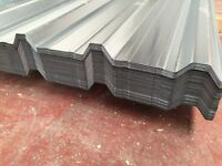 Box profile roof sheets, galvanised
