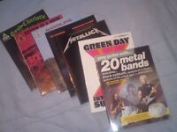 Guitar Tab Books Metallica, Good Charlotte, System of a Down, Green Day