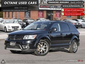 2012 Dodge Journey R/T ACCIDENT FREE! AWD! 7 PASSENGER!