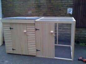 New Dog Kennel & Run 8ft x 4ft