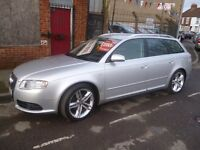 Audi A4 avant s line tdi,stunning looking estate,FSH,3 previous owners,2 keys,very fast