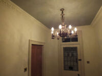 Pair of beautiful antique chandeliers