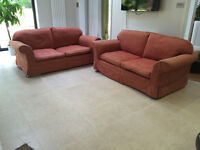 Laura Ashley - 2 x Large Two Seater Sofas