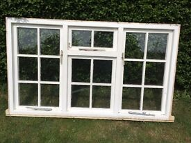 French wood window for sale. Good condition. Width 177 cm Length 105 cm.