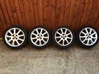 """Vauxhall alloy wheels 16"""" X 4"""