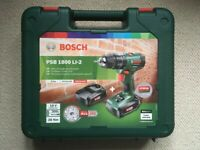 Genuine Empty Carry Case for Bosch PSB 1800 LI-2 18V Cordless Combi Drill
