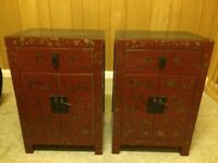 Chinese style cabinets