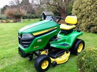 "John Deere X304 Ride on Mower - 42"" Mulch deck - 4 wheel steering - Lawnmower - Kubota/Countax"