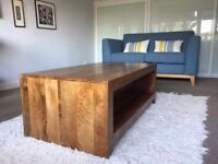 Dark Mango Wood Coffee table - perfect condition