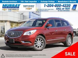 2015 Buick Enclave *Leather Heated Seats, Remote Start, Rear Vie