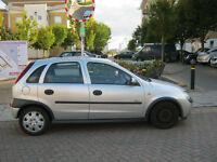 52 reg 2002 vauxhall corsa 1.0 automatic, 5 door, 12 month mot, 91k eco road tax £30 a year
