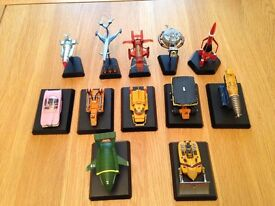 Konami Thunder birds Minature Models