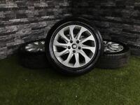 """16 """" Genuine Seat Leon MK3 5F 10 Spoke Alloy Wheels 5x112 VW Golf Caddy Tyres Alloys 5x112"""