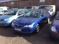 MAZDA 626 in vgcondition lovely driver long mot unmarked cloth trim px welcome any trial