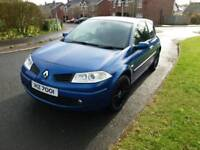 Renault megane dci 3 dr full mot mint easy taxed 65mpg driving perfect no faults sporty alloys