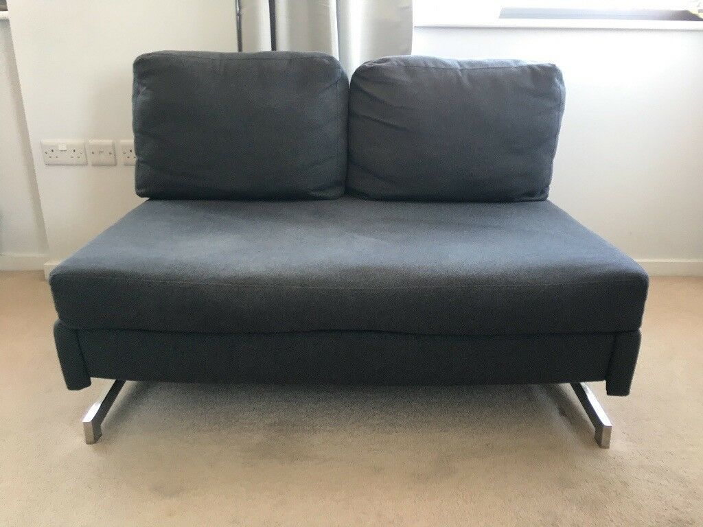 Stupendous 2 Seater Grey Made Motti Armless Sofa Bed In London Bridge London Gumtree Machost Co Dining Chair Design Ideas Machostcouk