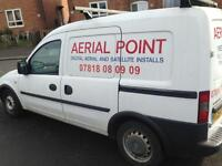 Vauxhall combo business for sale aerial satellite cctv tools included