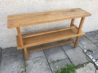 Oak Benches x 2 SOLD