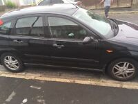Black Ford Focus for SALE OR SWAP for smaller car!!