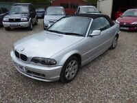 ABSOLUTE BARGAIN BMW318i CONVERTIBLE !!!!!!!!!!!!!!!!!!!!!
