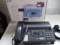 B.T. fax machine