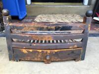 Vintage Antique Iron Fire Grate