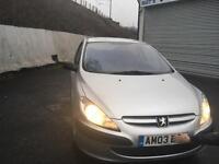 Peugeot 307 1.4 HDI 2003 got mot £500