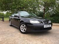 SAAB 93 2.0 2007 IN BLACK LONG MOT FULL SERVICE HISTORY DRIVES PERFECT