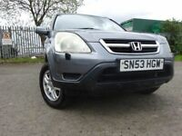 53 04 HONDA CR-V I-VTEC SE SPORT 2.0,MOT MARCH 019,3 OWNERS,2 KEYS,PART HISTORY,LOVELY EXAMPLE