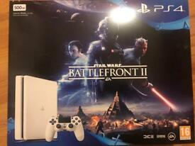 Brand new white ps4