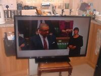 """42"""" lcd tv with built in free veiw"""