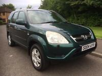 Honda Cr-V 2.0 i-VTEC Executive Station Wagon 4x4 , MOT JAN 18 , LOW MILEAGE 2004