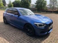 BMW 1 Series 3.0 M135i Sports Hatch (s/s) 5dr (2 FORMER KEEPERS) (MOT UNTIL FEBUARY 2019) 2014