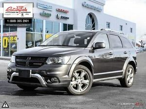 2016 Dodge Journey Crossroad *AWD, NAV & SUNROOF*