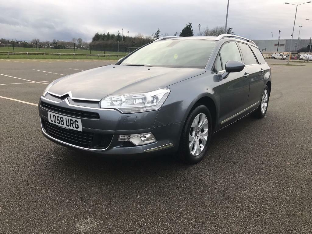 2008 citroen c5 tourer exclusive2 0 hdi in corby northamptonshire gumtree. Black Bedroom Furniture Sets. Home Design Ideas