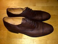 Men's Leather Shoes Brown Size 9 (43) Never Worn