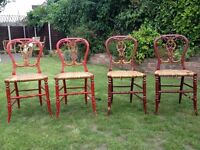 Restoration Project - Childrens' Wooden Chairs