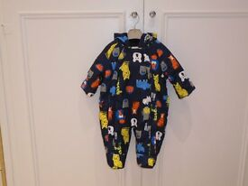 Brand New This Seasons M&S Baby Snowsuit 0-3 months Never Worn Wrong Size Bought in Error
