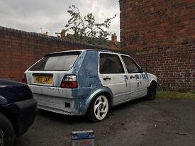 Mk2 golf rolling shell rust free