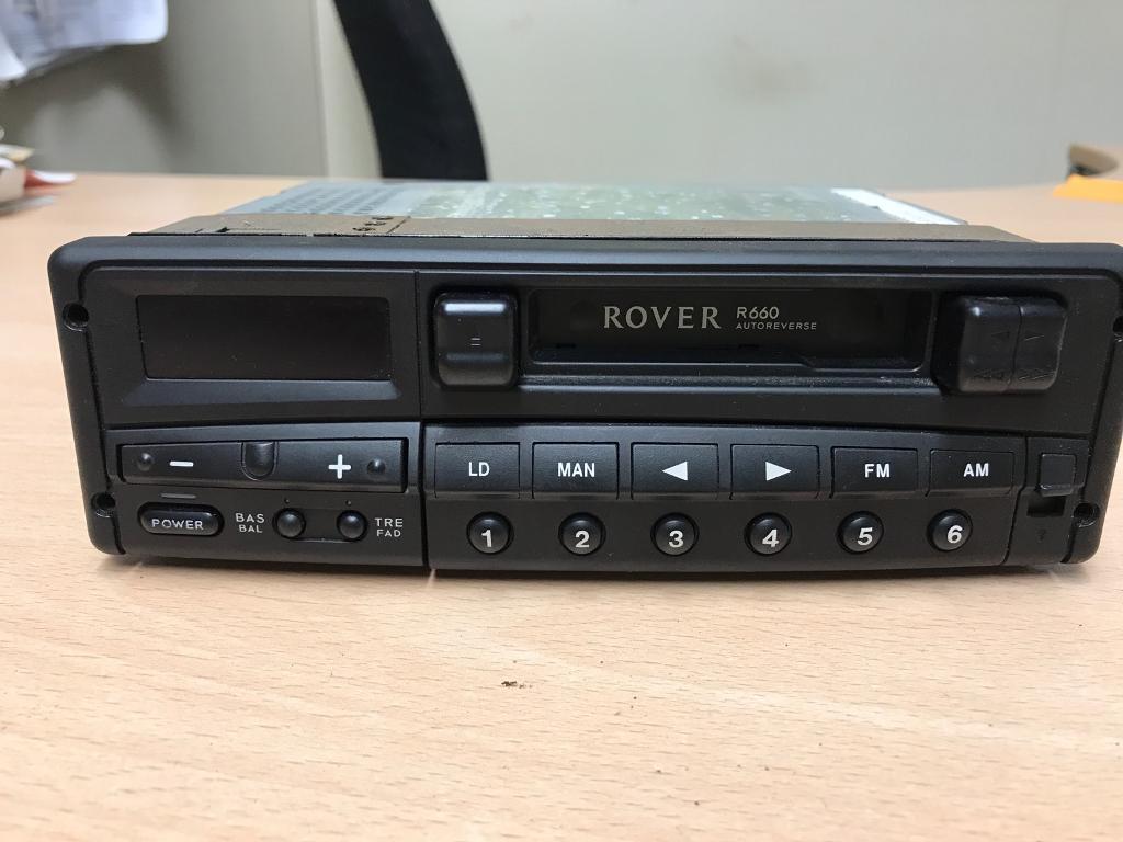 Radio Cassette Player For Roverminilandrover In Wrecclesham