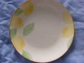 Sainsbury's earthenware tableware, 4 place settings