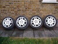 "17"" Genuine Mercedes Alloys will fit C / E / S Class & Vito & VW T5 Transporter"