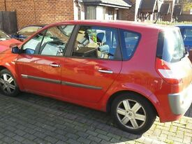 2004 Renault Scenic Dynamique DCI 100 1461cc Red